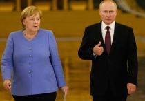 Путин жестко ответил Меркель про Навального