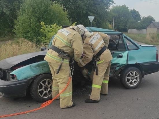 60-летняя женщина пострадала в ДТП в Курской области