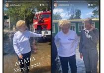 Елена Малышева посетила затопленную Анапу в рамках съёмки программы «Жить здорово!»