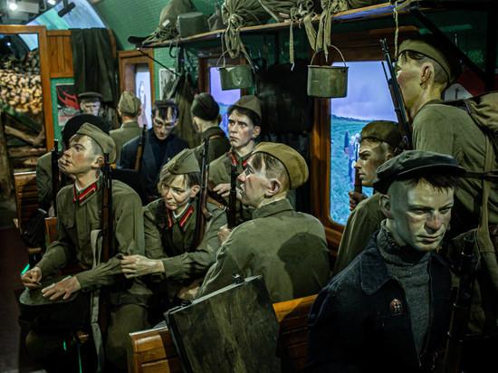 День флага России в Бурятии ознаменовался встречей «Поезда Победы»