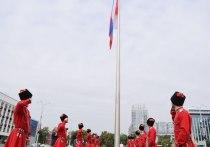 Кубанцев поздравили с Днём государственного флага