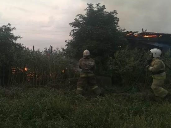 За минувшие сутки в Курской области зарегистрировано 11 пожаров