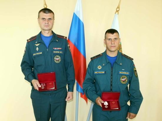 Владимир Путин наградил медалями двух томских героев-спасателей