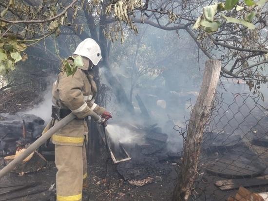 В Курской области сохраняется высокий класc пожарной опасности