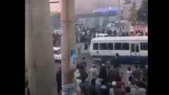 Появилось видео пожара в аэропорту Кабула