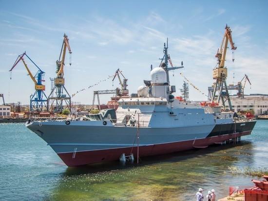 Построенный в Крыму «Циклон» готов к испытаниям на Черноморском флоте
