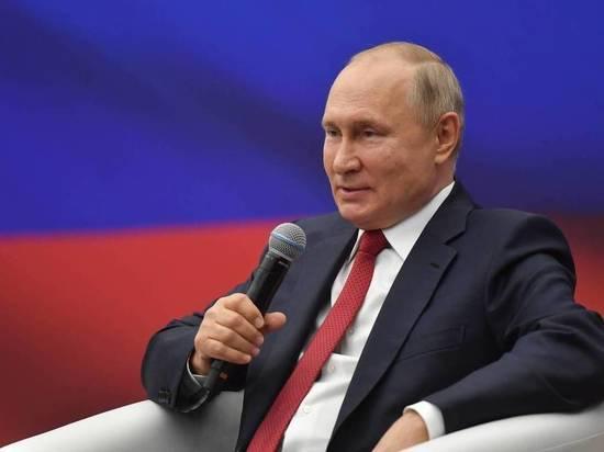Владимир Путин рассчитывает на сохранение позиций «Единой России» после выборов
