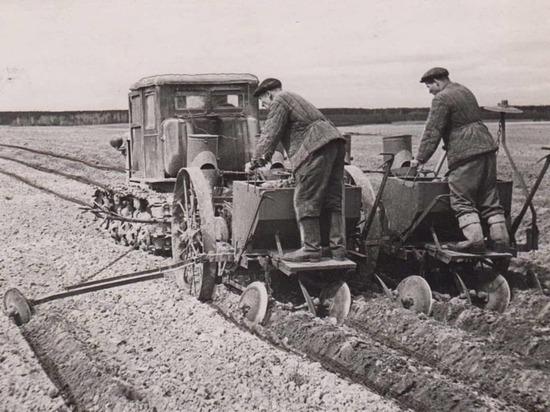 Жителям Серпухова показали ретрофотографии передовиков сельского хозяйства