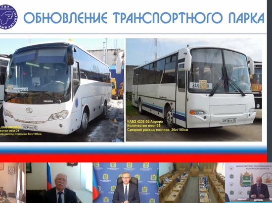 В Калужской области к 1 сентября откроют 10 новых маршрутов школьных автобусов