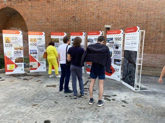 Картографическая выставка открылась в нижегородском кремле