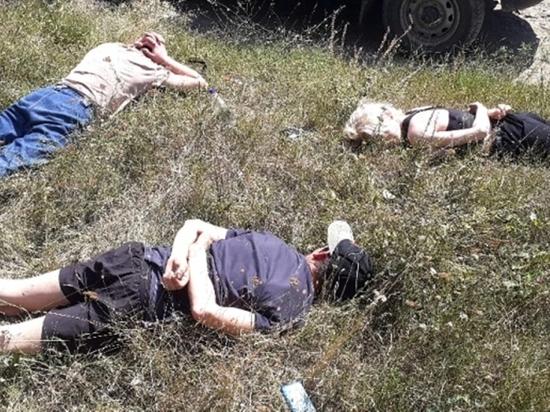 В Крыму полицейский в одиночку задержал троих наркоторговцев