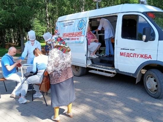 В Кирове в Метрограде будет работать мобильная прививочная бригада