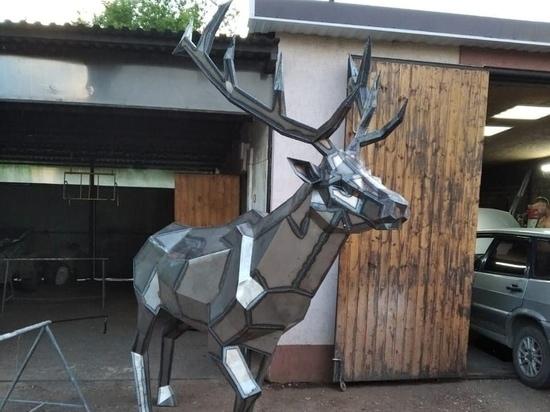 Курский мастер создает шедевры из железа и стали