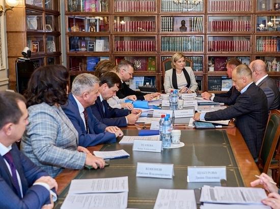Курский губернатор встретился с главой федерального министерства культуры