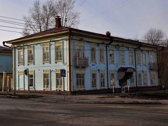 Жильцы вернутся в 121-летний дом Томска после реставрации в ноябре