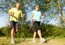 «Золотой возраст» — не повод ставить жизнь на паузу. На пенсии люди вполне могут продолжать сохранять голову светлой, а мышцы сильными. Конечно, серьезный фитнес пожилым петербуржцам уже не всегда по плечу, но он им и не нужен. Есть другие виды физической нагрузки, которые подходят людям старше 65 лет. И самой подходящей считается скандинавская ходьба.