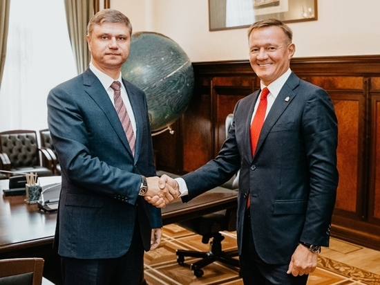 Курский губернатор встретился с руководством РЖД