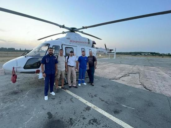 Санитарная авиация Крыма получит поддержку от Президента России