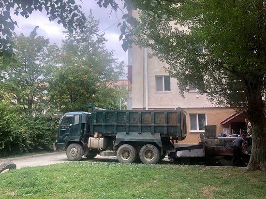 В Южно-Сахалинске продолжится текущий ремонт дворов
