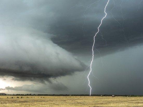 В Курск с короткими «гастролями» пришли дожди