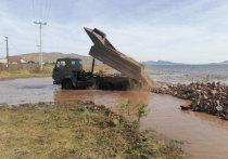 Вода Красноярского моря поднялась и может подтопить Усть-Абакан