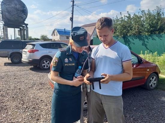 Курские спасатели продолжают выявлять нарушителей требований пожарной безопасности