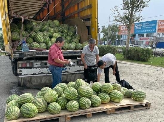 Мэрия Южно-Сахалинска вступила в борьбу с незаконными арбузами