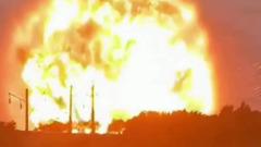 В Казахстане произошел взрыв на складе боеприпасов: видео очевидцев