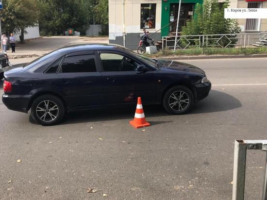 В Кирове на пешеходном переходе иномарка сбила 25-летнюю девушку