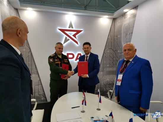 На международном форуме «Армия-2021» курский университет подписал соглашение с технополисом «ЭРА»