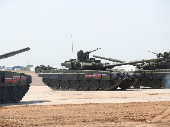 Под Волгоградом открылся военно-технический форум «Армия-2021»