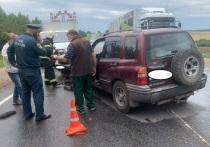 Несколько человек пострадали в массовом ДТП с фурой под Калугой