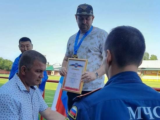Курский огнеборец взял золото в спартакиаде МЧС России по настольному теннису