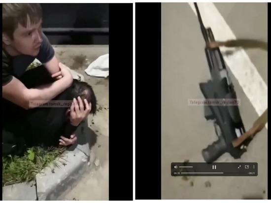 Томская полиция проверяет конфликт с оружием на улице Грачева