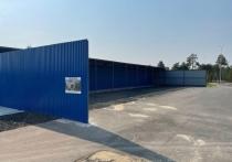 Биатлонная трасса и стрельбище: модульное здание для занятий спортом монтируют у лыжной базы Ноябрьска