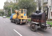Очередной контрольный рейд по объектам улично-дорожной сети состоялся в городе юности