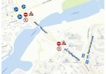 На несколько дней ограничили движение по мосту «Факел» в Салехарде