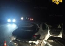 В массовой аварии на трассе М-3 в Калужской области пострадал человек