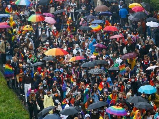 Германия: Гей-парад в Кёльне