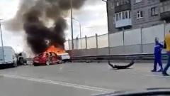 Массовая авария в Тюмени: столкнулись 5 машин