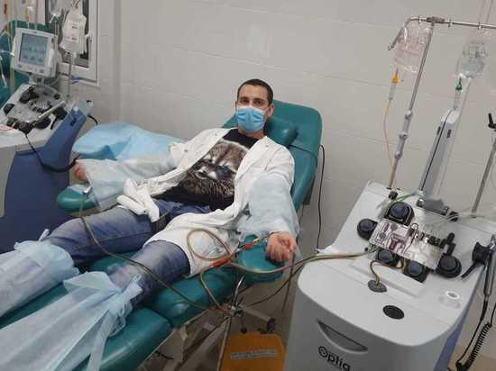 Врач Курской ОКБ Вячеслав Белых стал донором стволовых клеток для пациента из Кирова