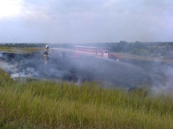 За минувшую неделю пожарно-спасательные подразделения Курской области более 160 раз выезжали по тревоге