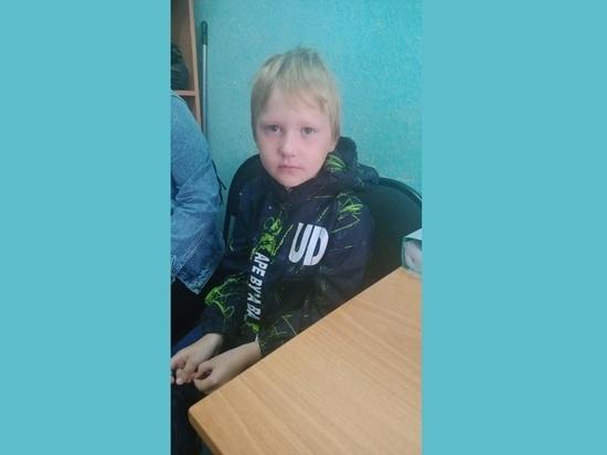 В Томске разыскивают родственников потерявшегося мальчика
