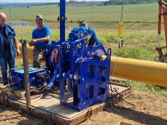 Газопровод в поселок Луч готов на 30%
