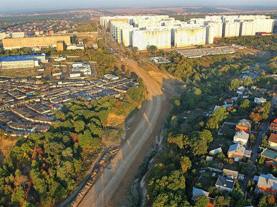 В Курске строительство дороги по улице Крымской пообещали завершить к 2024 году