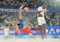 Сборная России, переиграв в финале Японию, стала чемпионом мира по пляжному футболу