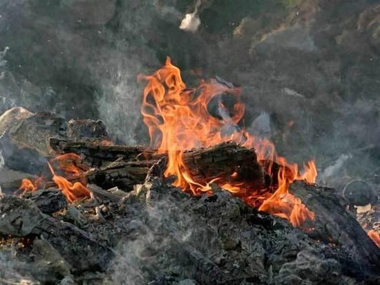 Причина возгорания выясняется