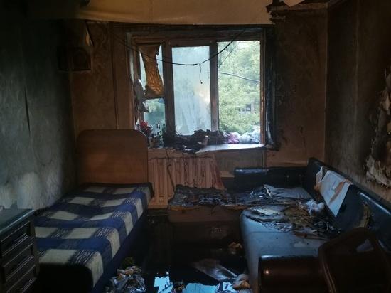 В Курске из-за пожара в общежитии эвакуировано 20 человек