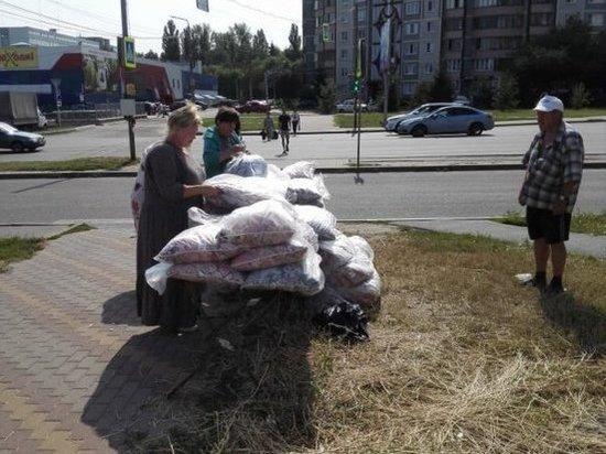В Курске пресекли нелегальную торговлю подушками на Дериглазова