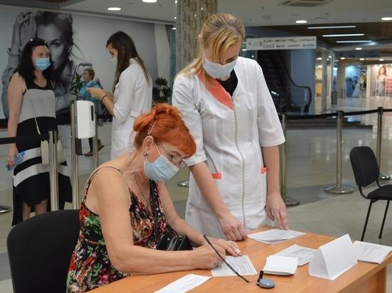 В Курске вакцинировали от коронавируса жителей Ставрополя, Москвы, Белгорода и Якутии